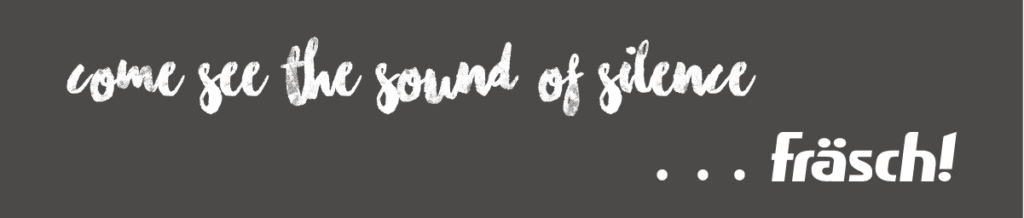 the sound of silence wording